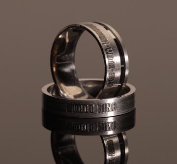 1. - Bloodring, prstan večne sreče krvni obroč, večni objem, prstan večne sreče, zaročni prstan, poročni prstan, prstan, zlati prstan, srebrni prstan, prstan po meri