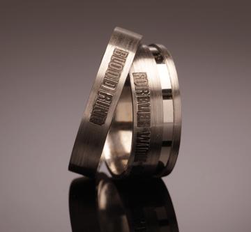 2. - Bloodring, prstan večne sreče krvni obroč, večni objem, prstan večne sreče, zaročni prstan, poročni prstan, prstan, zlati prstan, srebrni prstan, prstan po meri