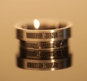 3. - Bloodring, prstan večne sreče krvni obroč, večni objem, prstan večne sreče, zaročni prstan, poročni prstan, prstan, zlati prstan, srebrni prstan, prstan po meri