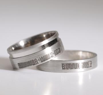 7. - Bloodring, prstan večne sreče krvni obroč, večni objem, prstan večne sreče, zaročni prstan, poročni prstan, prstan, zlati prstan, srebrni prstan, prstan po meri