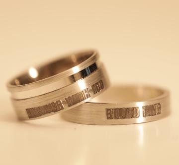 8. - Bloodring, prstan večne sreče krvni obroč, večni objem, prstan večne sreče, zaročni prstan, poročni prstan, prstan, zlati prstan, srebrni prstan, prstan po meri