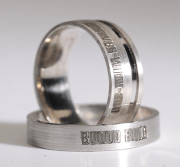 9. - Bloodring, prstan večne sreče krvni obroč, večni objem, prstan večne sreče, zaročni prstan, poročni prstan, prstan, zlati prstan, srebrni prstan, prstan po meri